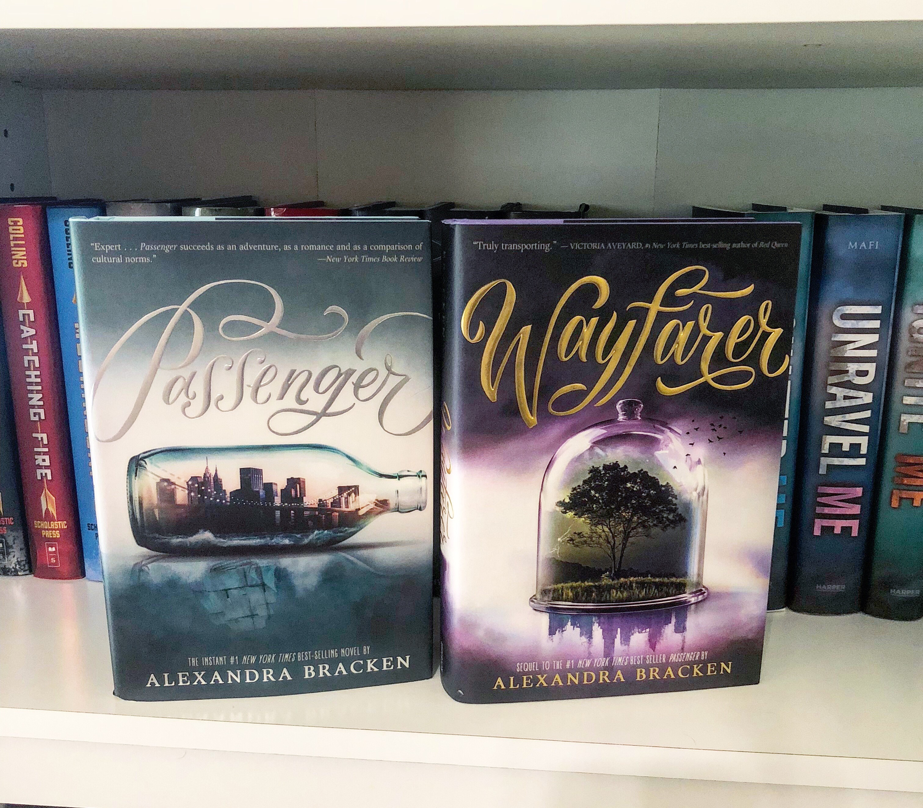 Book Feature: Passenger & Wayfarer by Alexandra Bracken